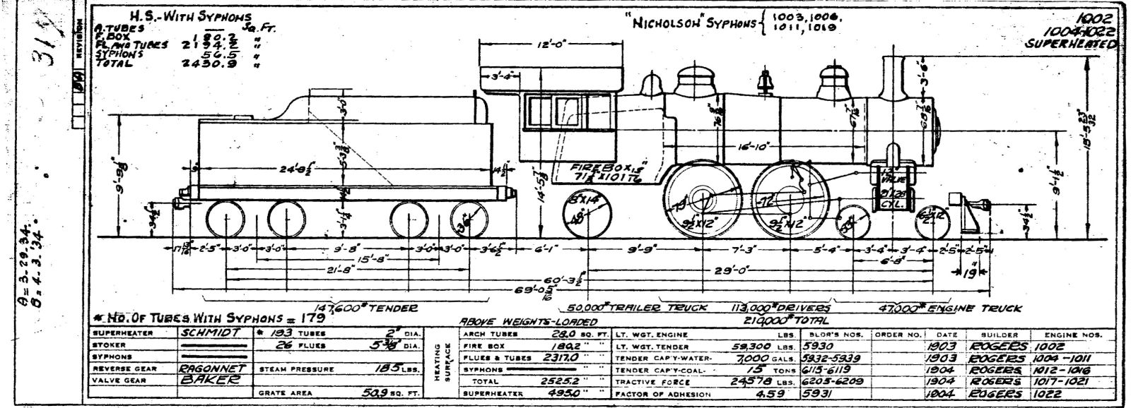 Illinois Central 1937 Locomotive Diagrams – Locomotive Engine Diagram Simple